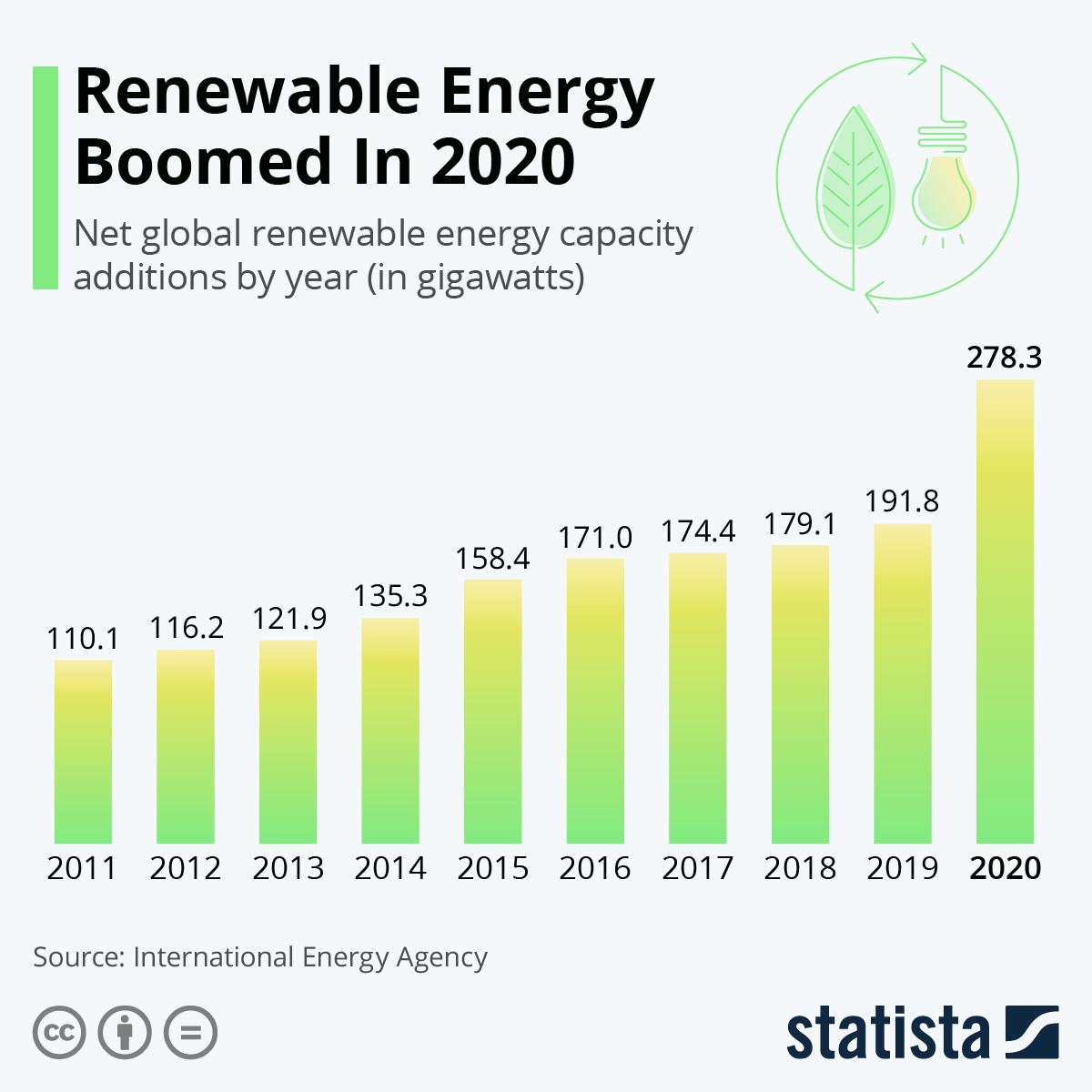 Renewable Energy Boomed In 2020