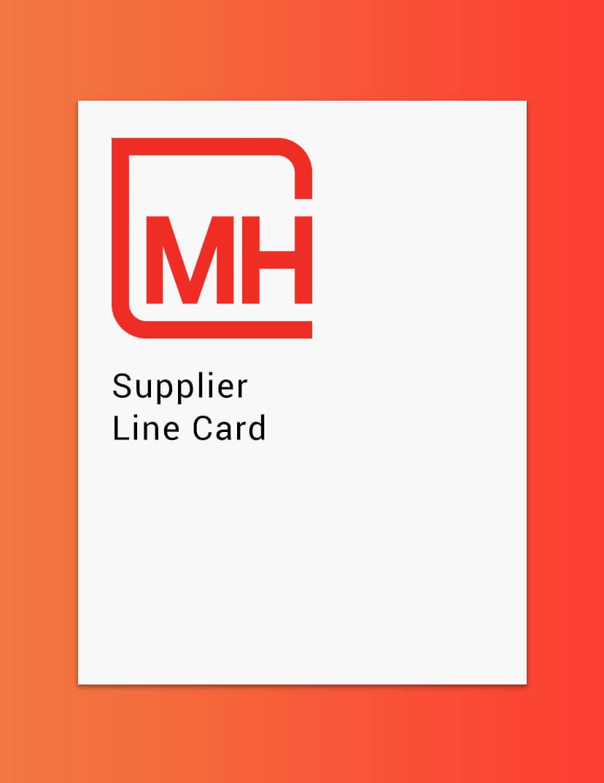 Plastic Resin Distributor M Holland Supplier Line Card